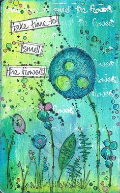 Conny hat mir ihre neueste Art Journalseite, gestaltet mit den neuen Paper Artsy Motiven, für den Blog zur Verfügung gestellt! Sieht sie n...