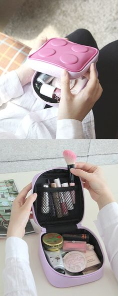 Block Cosmetic Pouch