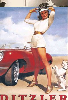 25 Classic Pin-Up Girls And The Photos That Inspired Them