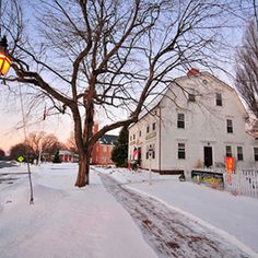 America's Prettiest Winter Towns. Via T+L (www.travelandleisure.com).