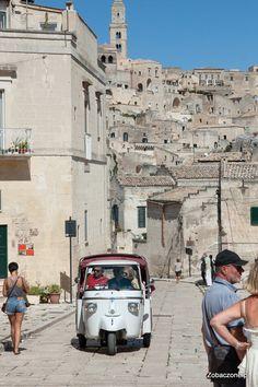 Matera, Italy Bari, Street View, Italia