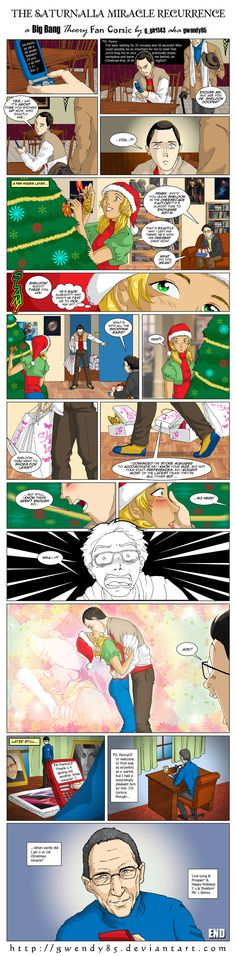 This is really cute :)  --Saturnalia Miracle Recurrence by ~gwendy85 on deviantART