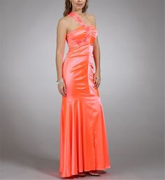 Neon Coral Prom Dress Windsor