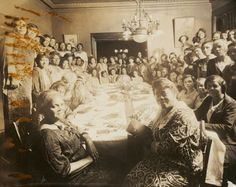 Mary McLeod Bethune, Ida B. Wells, Nannie Burroughs and other women at Baptist Women's gathering, Chicago.