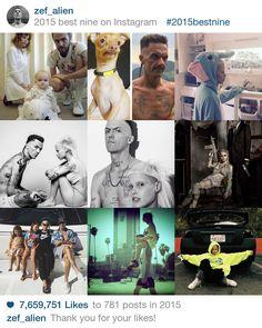 2015bestnine - zef_alien's best nine on Instagram in 2015