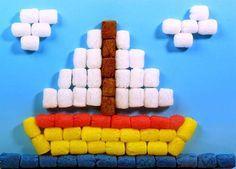 Dressingsmurfs Vistiendo Pitufos Sobre Ninos Y Bebes Los Fischer Tip La Revolucion De La Fecula De Patata Diy Crafts For Kids Activities For Boys Crafts For Kids