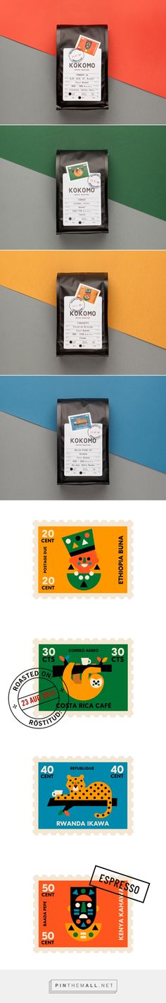 Kokomo Coffee packaging design by AKU (Estonia) - http://www.packagingoftheworld.com/2016/09/kokomo-coffee.html