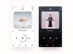 Music Player App - CLIK