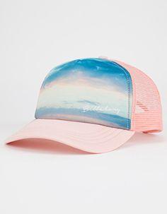 e26cbf63277 BILLABONG Take Me There Womens Trucker Hat Pink Cute Beanies