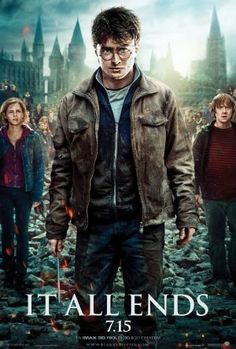Amazon.com: Harry Potter Deathly Hallows Part 2 Poster