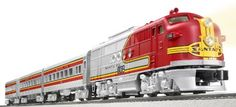 Lionel Santa Fe Chief Train Set