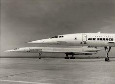 Deux aigles sur le macadam, Concorde.