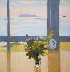 Fairfield Porter. Flowers by the Sea. 1965