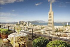 The USA's most beautiful city from the Mandarin Oriental, San Francisco