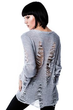Baal Knit Sweater [GREY]