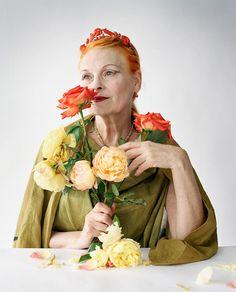 Viviane Westwood par http://timwalkerphotography.com/portraits