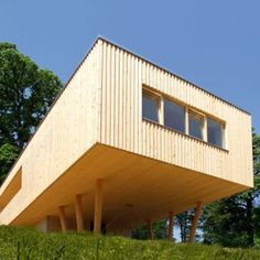 Passive timber house in Austria  by Juri Troy Architects
