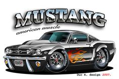 Muscle Car Cartoon Art | ... cars nextcars future cars fast cars new cars cool cars hot cars