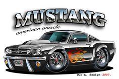Muscle Car Cartoon Art | ... cars nextcars future cars fast cars new cars cool cars hot cars