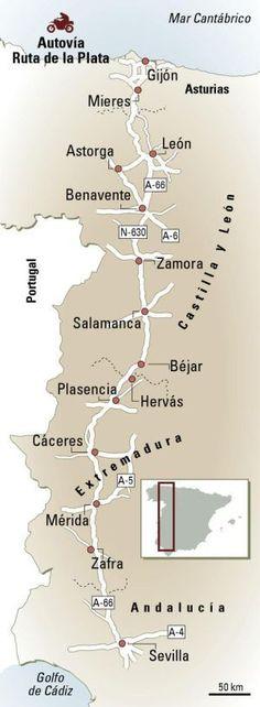 Via de la Plata: Route 66 Iberian Asturias Spain, Spain And Portugal, Secret Places, Spain Travel, Travel Agency, Travel Around, Travel Pictures, Trip Planning, Wonders Of The World