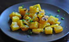 The recipe for The Olive Garden's Roasted Butternut Squash