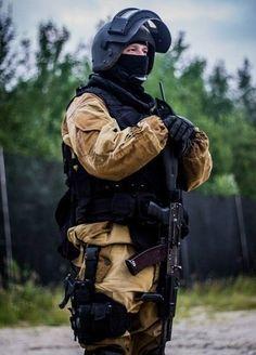 Russian FSB Soilder