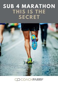 If your goal for your next marathon is to run it under 4 hours then this post is for you. Click through to discover what the secret to dipping under 4 hours for 26 miles is. Marathon Training Plan Beginner, Marathon Training Program, Strength Training Program, Training Programs, Marathon Recovery, Marathon Tips, Marathon Running, Running Training, Running Tips