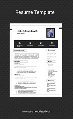 Beautiful professional Resume templates