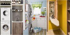 TIPS REMAX UNO:10 ideas para diseñar el cuarto de la lavadora perfecto. Muebles y accesorios para mantener el orden