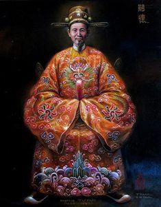 TỰ ĐỨC - Chân Dung Các Vua Triều Nguyễn