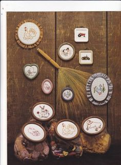 Rural Rascals June Ertenberg New Berlin B 104 leaflet Counted Cross Stitch Farm Animals