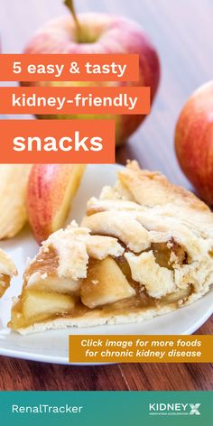 Want a snack that fits right in your renal diet? Click the image for 5 on-the-go kidney-friendly snacks .