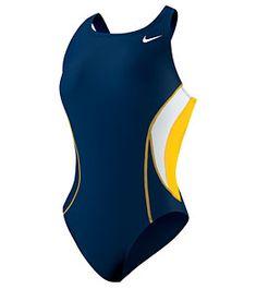 Nike Swim Team Color Block Power Back Tank #swimoutlet