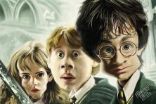 Harry Potter, Ron Weasley, Hermione Granger.