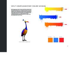 Color Scheme on Split Complimentary. Split Complementary Color Scheme, Portfolio Design, Color Schemes, My Design, College, Portfolio Design Layouts, R Color Palette, University, Colour Schemes