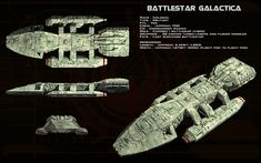Battlestar Galactica (TOS) ortho by unusualsuspex.deviantart.com on @deviantART