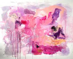 Abstract art by jen ramos : Purple Rain - MadeByGirl.com