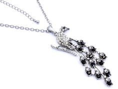 Peacock Bird Black Crystal Necklace CostumeFashionJewelry,http://www.amazon.com/dp/B0054EXF90/ref=cm_sw_r_pi_dp_-G4nsb0MNHHQ9F5M