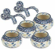 Temp-tations Old World 8-piece Soup Bowl & Spoon Set ($33.18)