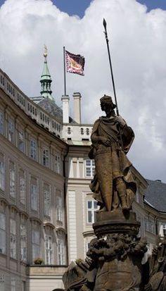 President palace, Prague castle, Czechia