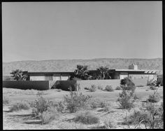 Levin House, Palm Springs, 1949, architect  William Cody, photo Julius Shulman