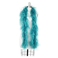Zucker Feather Products Ostrich 2-Ply Boa for Decoration, Dark Aqua 33.06 View the full Halloween content here https://hallowmix.com/shop/halloween-costumes/zucker-feather-products-ostrich-2-ply-boa-for-decoration-dark-aqua/