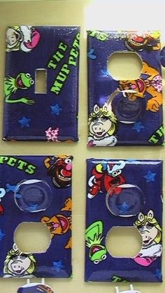 Hey, I found this really awesome Etsy listing at https://www.etsy.com/listing/103458331/muppets-kermit-the-frog-miss-piggy