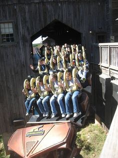 The Wildfire at Silver Dollar City in Branson, MO!! My first roller coaster I road with loops!