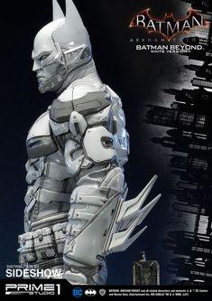 DC Comics Batman Beyond - White Version Statue by Prime 1 St Batman Suit, Im Batman, Future Batman, Batman Cowl, Batman Poster, Batman Artwork, Batman Arkham Knight, Batman The Dark Knight, Batman Costumes