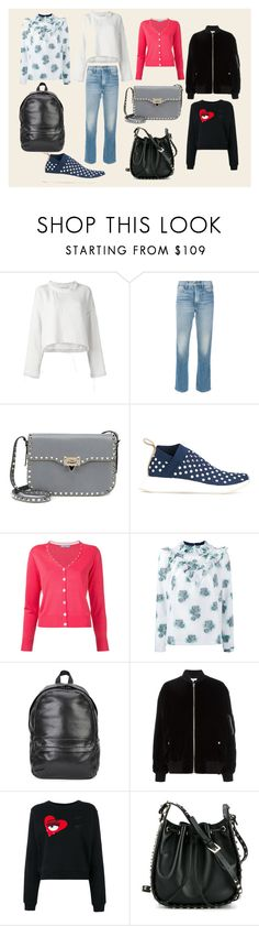 """""""Dating with new boyfriend Collection"""" by mkrish ❤ liked on Polyvore featuring IRO, Frame, Valentino, adidas Originals, Guild Prime, Roseanna, Private Stock, Chiara Ferragni, romantic and romance"""