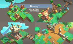Box World Environments PACK - Asset Store
