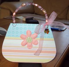 Handbag Card For Mum
