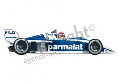 Illustration Brabham - 1983 - F1Chpt