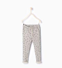 ZARA - KIDS - Printed harem trousers